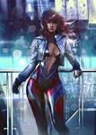 Guild Wars 2 Avatar Cyberpunk - OC Commission