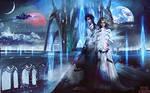 Sci-fi Fantasy Bookcover 'NERO KINGDOM'