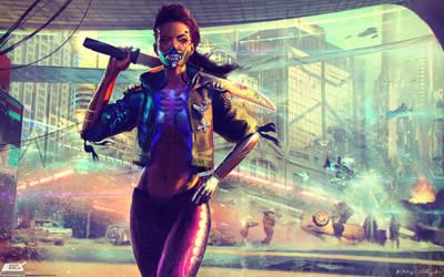 XIOMARA Cyberpunk 2077