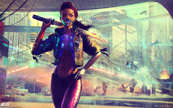 XIOMARA Cyberpunk 2077 Tabletop
