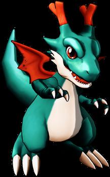 Dracomon card art