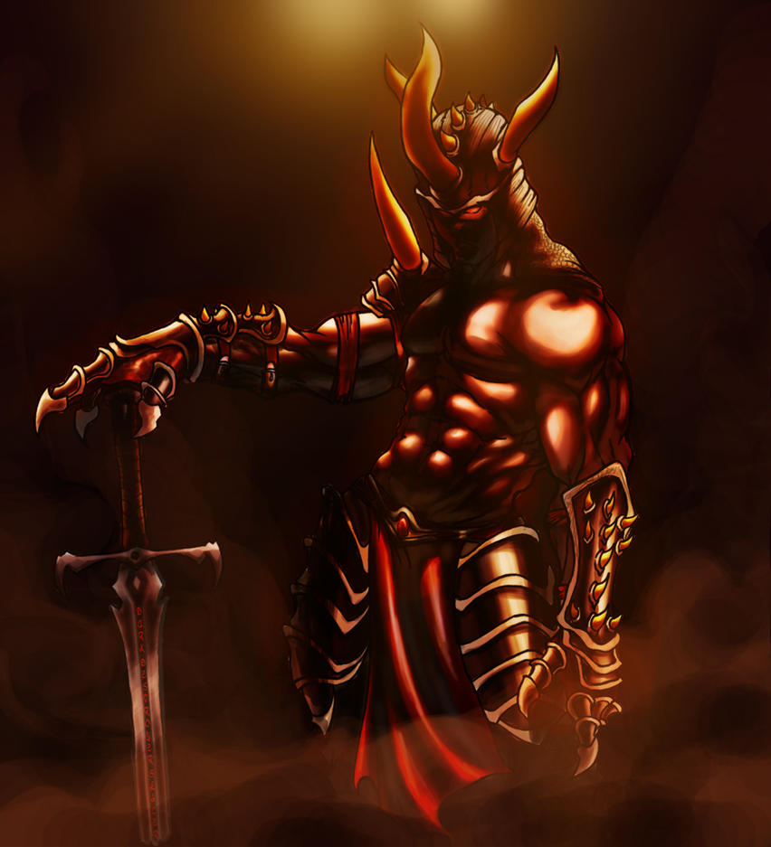 Demon knight by edragon on deviantart for Domon pictures