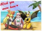 [C] Vacation Postcard