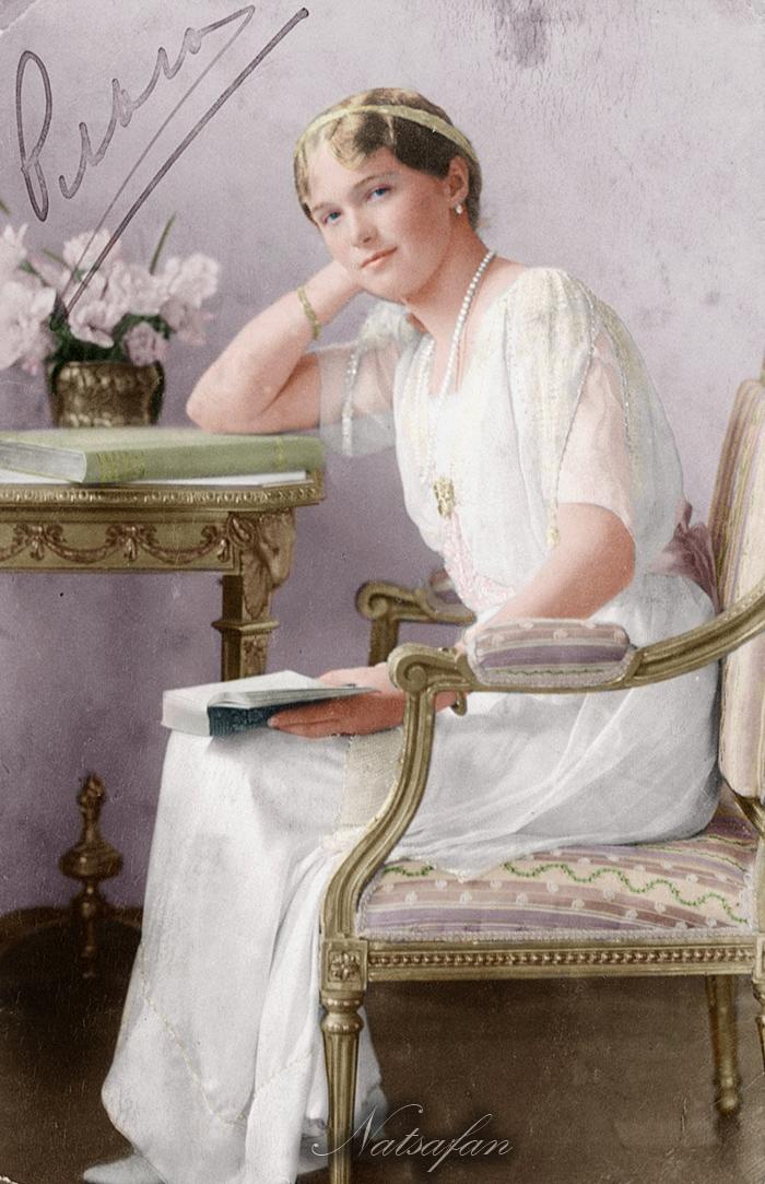 Olga 1914 ~ colored photo by natsafan