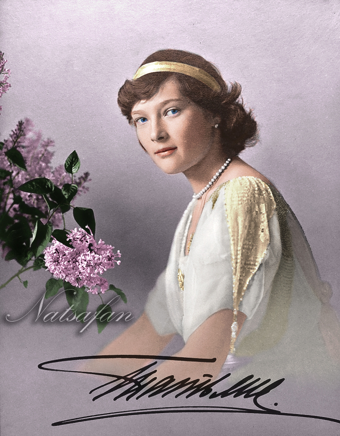 Tatiana Nikolaevna ~ colored photo by natsafan
