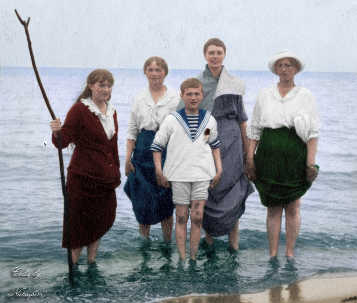 May 1916 ~ colored photo by natsafan