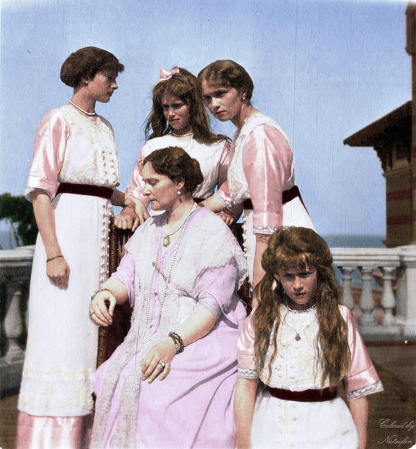 AOTMA in 1913 ~ colored photo by natsafan