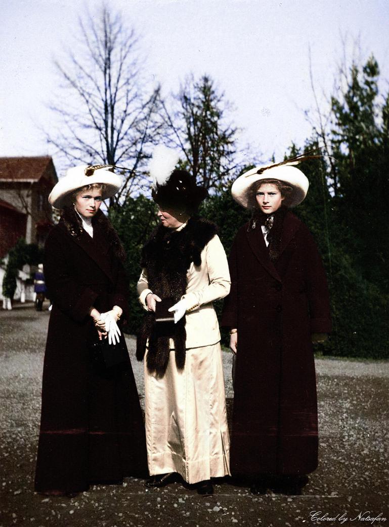 Olga, Irene and Tatiana by natsafan