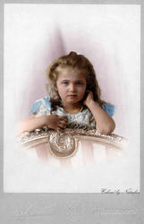 Olga 1901 ~ colored photo