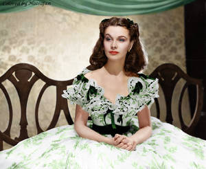 Scarlett O'Hara ~ colored photo