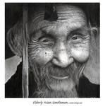Elderly Asian gentleman