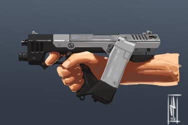 Snub Gun by kiolia