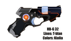 T-Blan's 'HB-G 32', colored