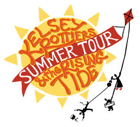 Kelsey Rottiers Summer Tour poster