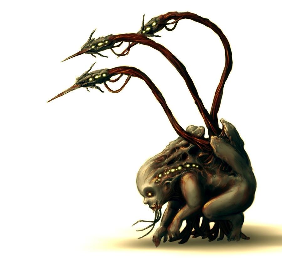 dead space monster by jeshika3 on DeviantArt Dead Space 3 Monsters