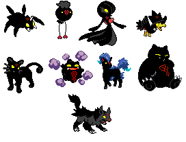 Heartless Pokemon V2 by MetalShadowOverlord