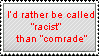 I'd Rather Be Racist Stamp by MetalShadowOverlord