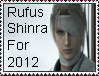 Rufus Shinra For 2012 Stamp by MetalShadowOverlord