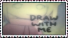 Draw With Me Stamp by MetalShadowOverlord