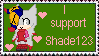 I Support Shade123 Stamp by MetalShadowOverlord