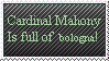 Anti Cardinal Mahony Stamp by MetalShadowOverlord