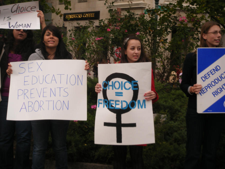 BPLM Pro-Choice Protest 5 by MetalShadowOverlord
