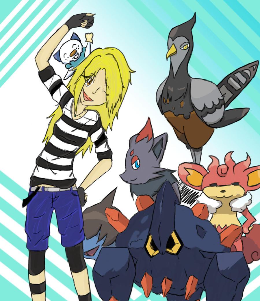 Rei's team version 1 by SakanaxSoixMimiru