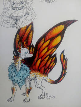 Dragon Butterfly Nymph