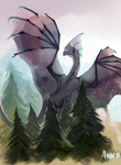 Dragon and Trees