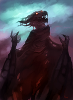 Undead Dragon by ANicB