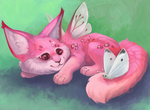 Pink and Fluffy by ANicB