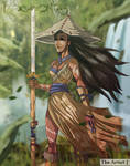 Samurai Pocahontas