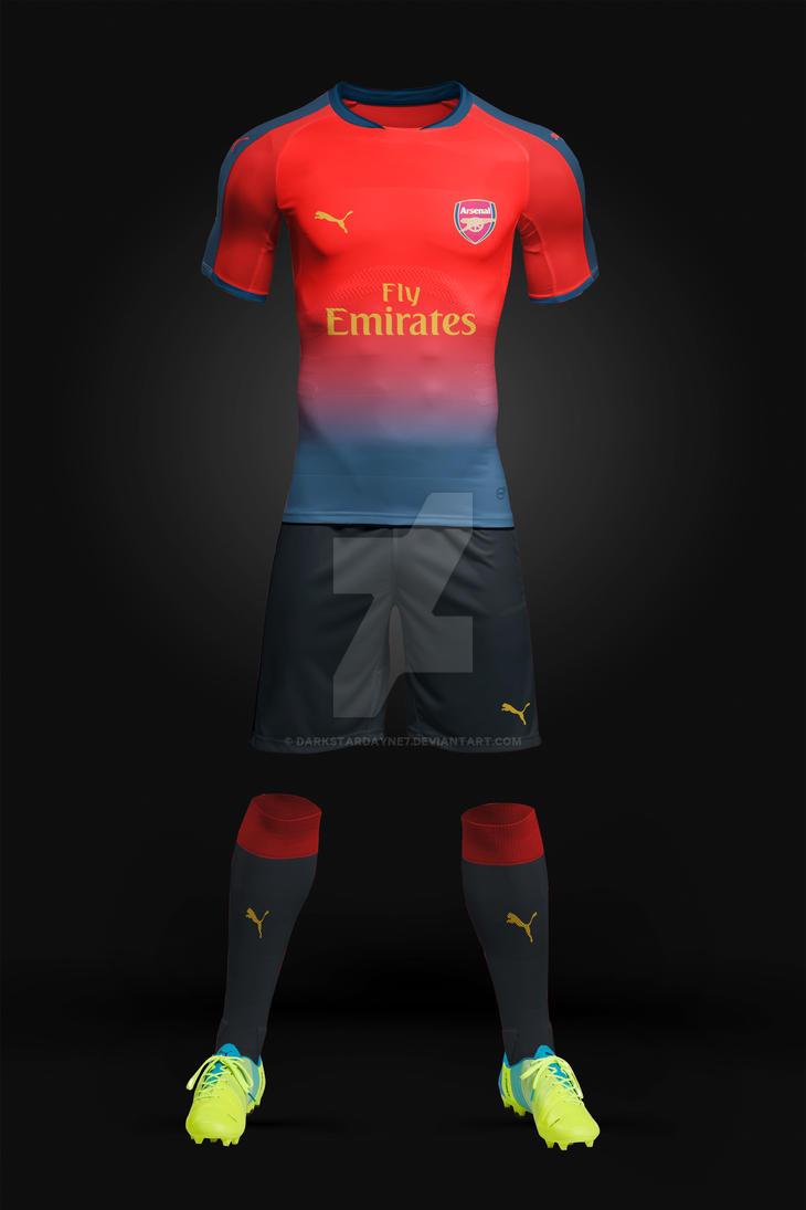 Arsenal New Home Kit