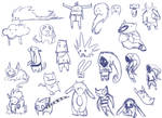 Iconic Character Sketch Dump2