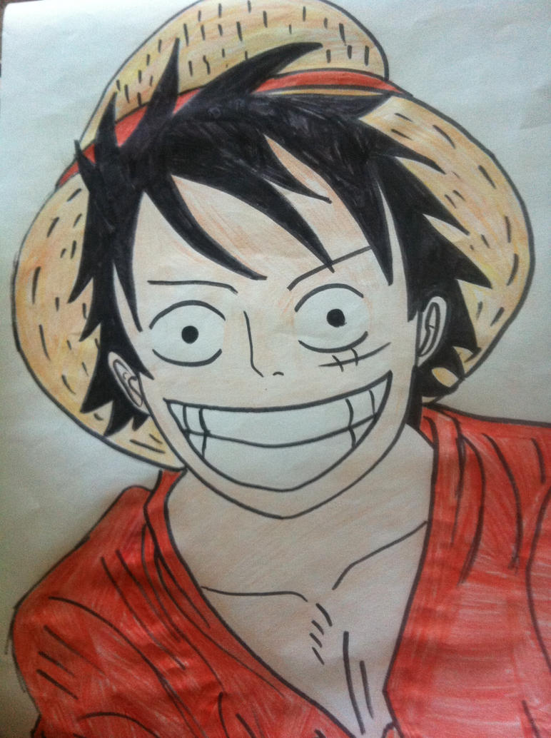 Monkey D. Luffy by gamerdude10