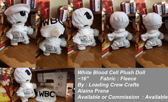 White Blood Cell U1146 Plush Doll