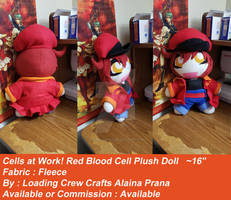 Red Blood Cell AE3803 Plush Doll