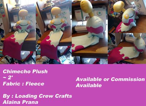Pokemon Chimecho Plush