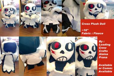 Cross Plush Doll