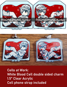 Cells at Work: White Blood Cell Charm