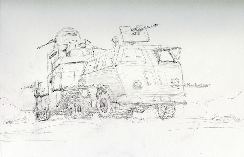 WSC Apocalyptic Vehicle Design by AlAyos