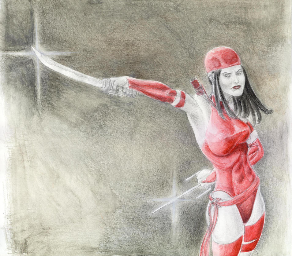 Elektra Color DSC Sketch 2 by AlAyos