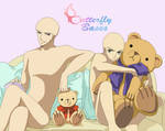 Base - Couple Teddy Bears by Butterfly-Bases