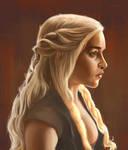 Game of Thrones (fan art) - Khaleesi
