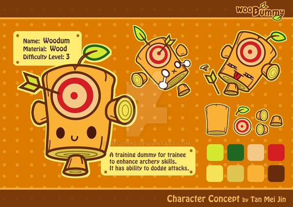 Woodummy Concept by meiji1990