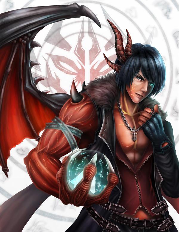 Dragon Personas by meiji1990