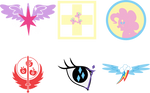 Fallout Equestria - Ministries Logos
