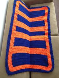 Crochet Blanket by LunarCatNinja