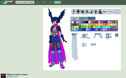 Digimon Spirit Creator by Hapurianen by LunarCatNinja
