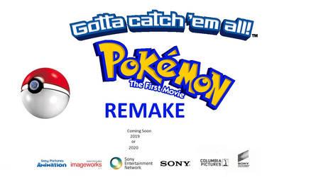 Mewtwo Strikes Back Remake - Teaser poster (Sony)